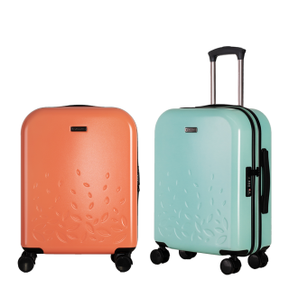 Two are better than one (two suitcases)